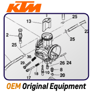 always great prices on OEM parts for KTM