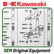 New OEM Kawasaki Motorcycle, scooter, ATV, Utility Vehicle parts UTV side by side parts